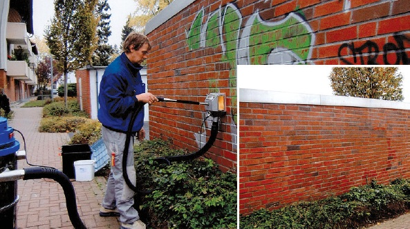 Ekologiška grafiti valymo technologija – Tornado